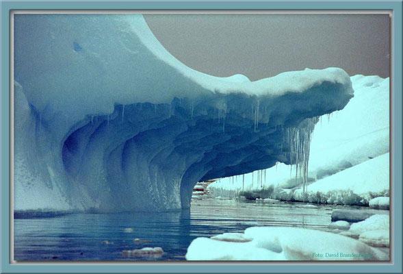 16.Eisbergdetail,Argentinische Inseln,Antarktis