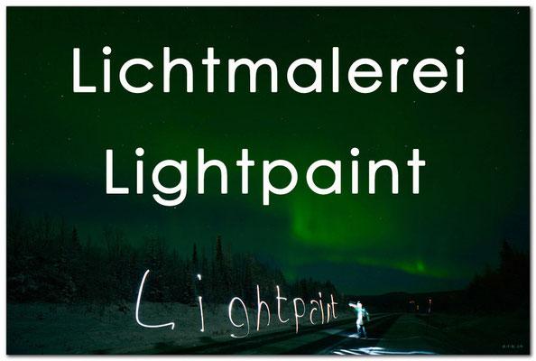 Fotogalerie Lichtmalerei / Lightpaint, Photogallery