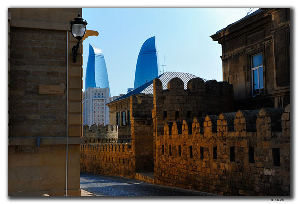 AZ066.Baku.Flame Towers