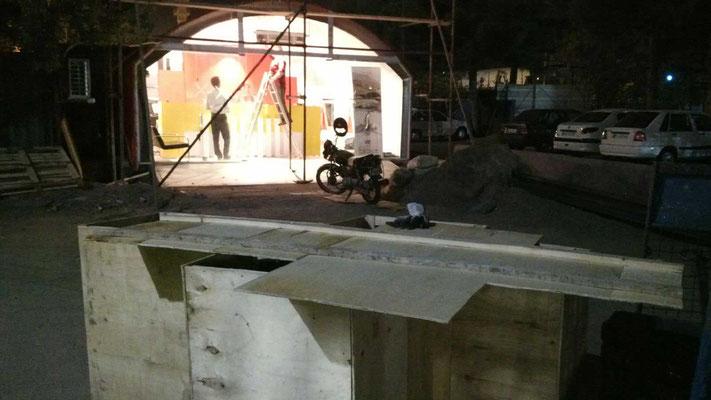 IR: Mashhad,Trike in Box zum AirCargo-Transport (Photo:Shahab)