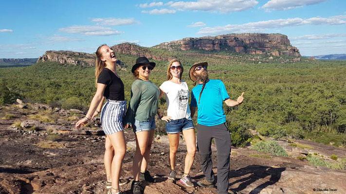 Australien, Kakadu N.P. Schweizer Gruppe (Foto: Claudia Treier)