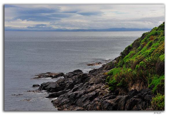 NZ0889.Bluff.View to Stewart Island