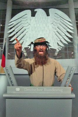 Berlin im Bundestag (Photoshop)