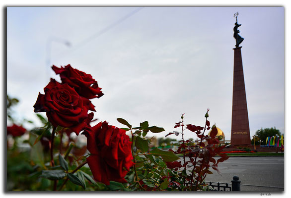 KZ0018.Shymkent.Independence Monument