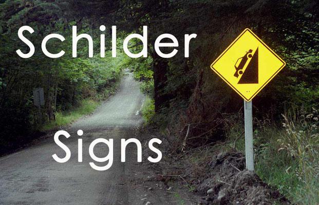Fotogalerie Schilder / Photogallery Signs