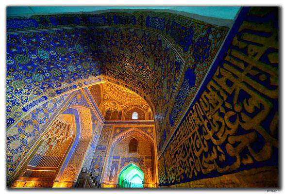 UZ0054.Samarkand.Registan.Tilla-Kari Medressa