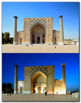 UZ0071.Samarkand.Registan.Ulugbek Medressa