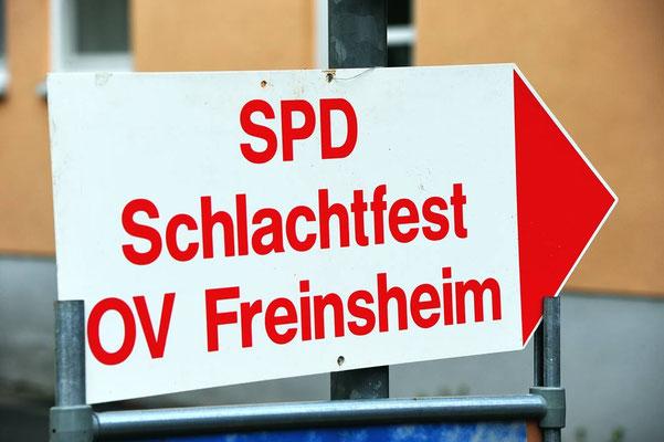 Deutschland,Freinsheim. Schlachten wir die SPD?