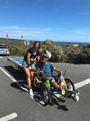 AU:Great Ocean Road.Marine and David (Photo: Boyfriend of Marine)
