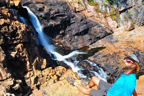 Australien.Middle Edith Falls