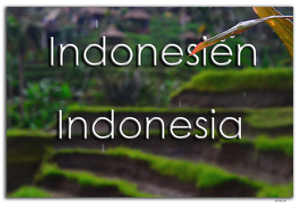 Fotogalerie Indonesien / Photogallery Indonesia