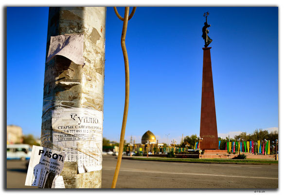 KZ0032.Shymkent.Independence Monument