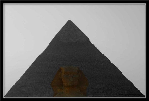 EG012.Pyramide und Sphinx.Gizeh