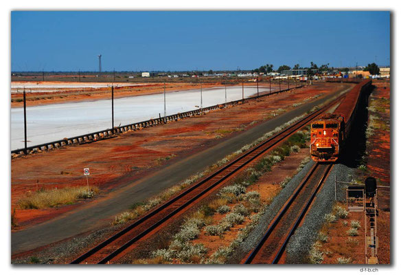 AU0287.Port Hedland,Iron Ore Train