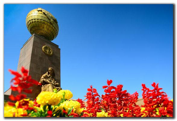 UZ0222.Tashkent.Caring Mother Monument