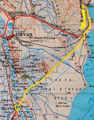 Tag 183: Qobustan - Salyan