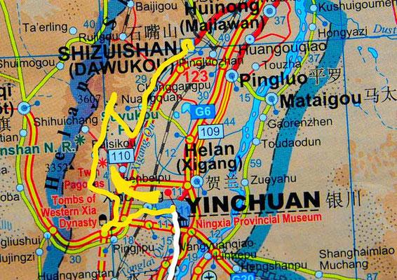 Tag 249: Yinchuan - Shizuishan 石嘴山市