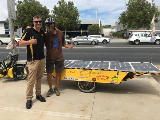 Australien.Adelaide. NRG Solar. Eddy and David (Photo: NRG Solar)