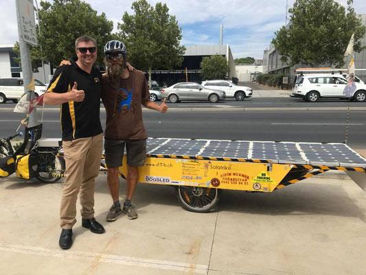 AU:Adelaide. NRG Solar. Eddy and David (Photo: NRG Solar)