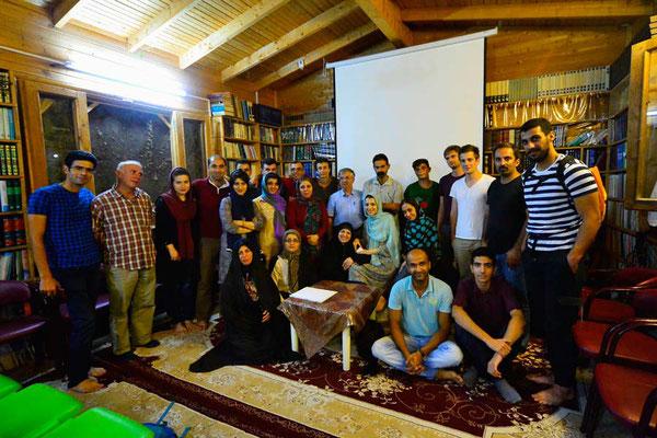 IR: Vortrag in Abbas Abad