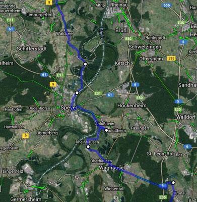 Knittlingen - Ludwigshafen 24.6.2014