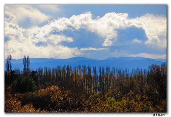 NZ0952.Christchurch.Aussicht in die Berge