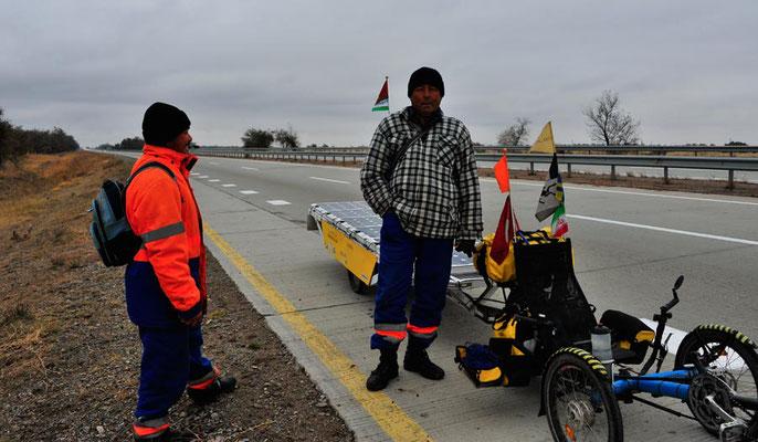 KZ: Solatrike und kasachische Arbeiter