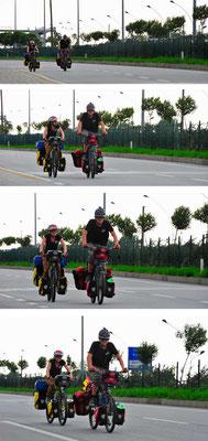 TR: Andreas und Stephanie, auch Fernradler.