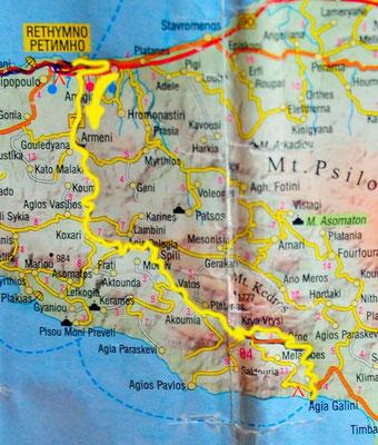 Tag 114: Rethimno - Spili - Agio Galini