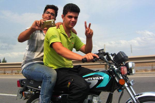 Iran: Motorrad 3