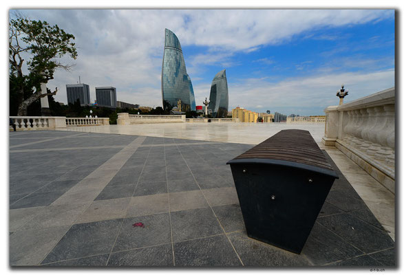 AZ076.Baku.Flame Towers