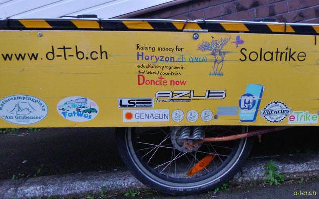 NZ: Solatrike mit neuem Aufkleber von LS Engineering