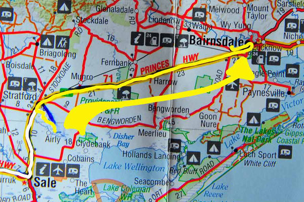 Tag 435: Stratford - Bairnsdale
