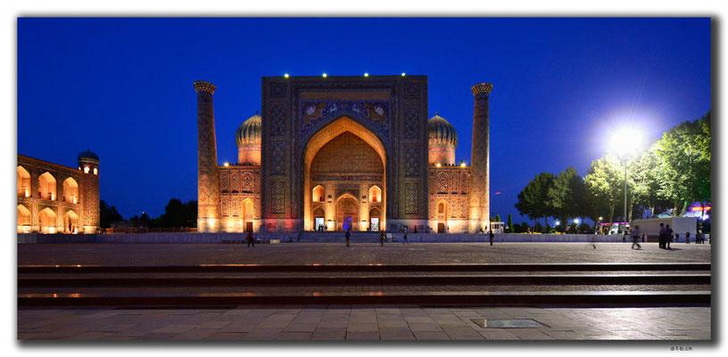 UZ0043.Samarkand.Registan.Sher Dor Medressa