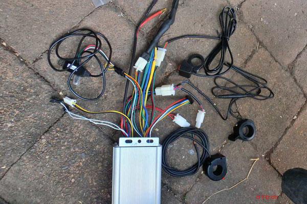 AU: Solatrike, Neuer Controller zu neuem Hinterradmotor