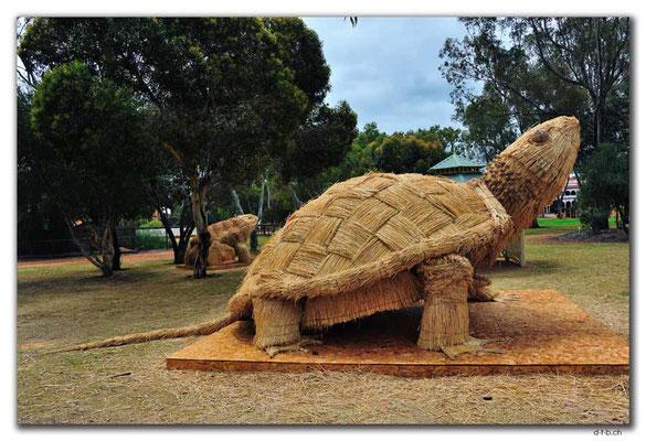 AU0662.York.Strohskulptur.Schildkröte