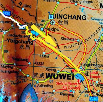 Tag 244: Changgangbao - Wuwei