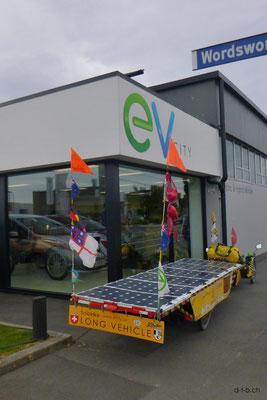 NZ: Solatrike bei EV City in Christchurch