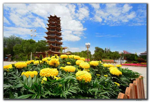 CN0160.Zhangye.Manjuji Pagoda