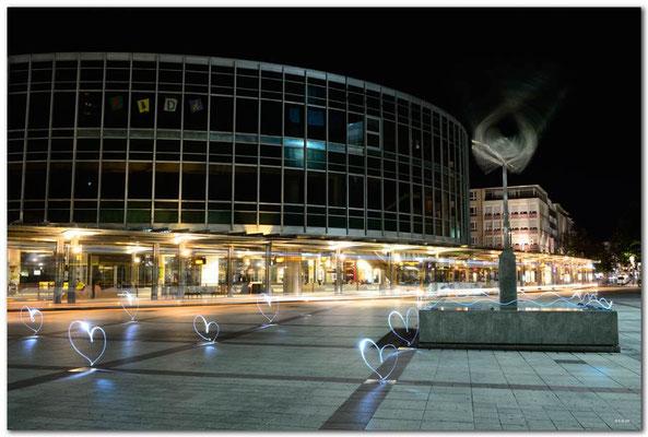DE162.Ludwigshafen.Berliner Platz. Wurde umgestaltet.