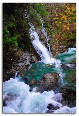 NZ0580.Anatoki Track.Waingaro River Falls