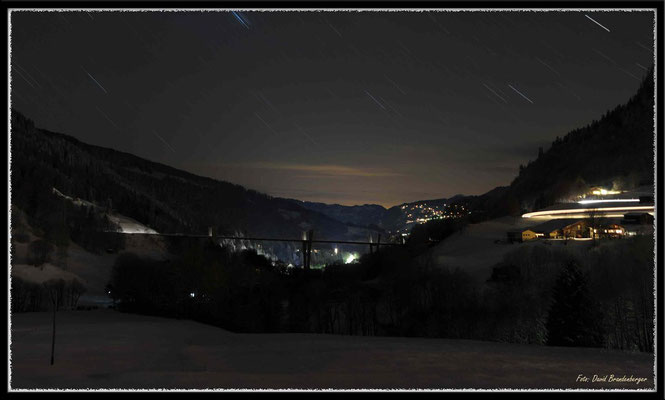 A0353.Sunnibergbrücke Nacht,Klosters.CH