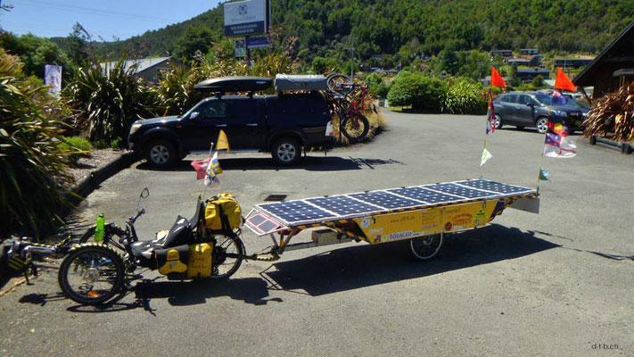 NZ: Solatrike in St. Arnaud