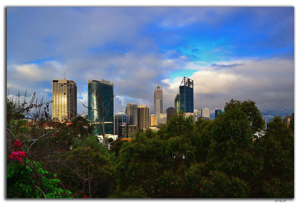 AU0714.Perth. View from Jacobs Ladder