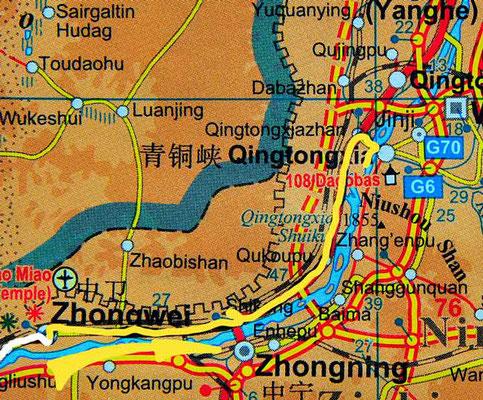 Tag 247: Zhongwei - Qingtongxia