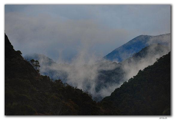 NZ0538.Kahurangi N.P.Evening at Asbestos Hut