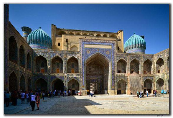 UZ0031.Samarkand.Registan.Sher Dor Medressa