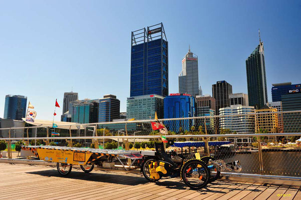 AU:Solatrike at Perth, Elizabeth Quay