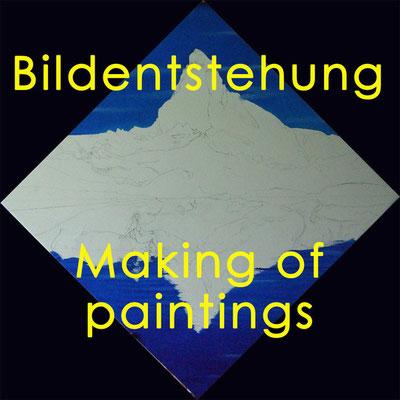 Bildentstehung / Making of paintings