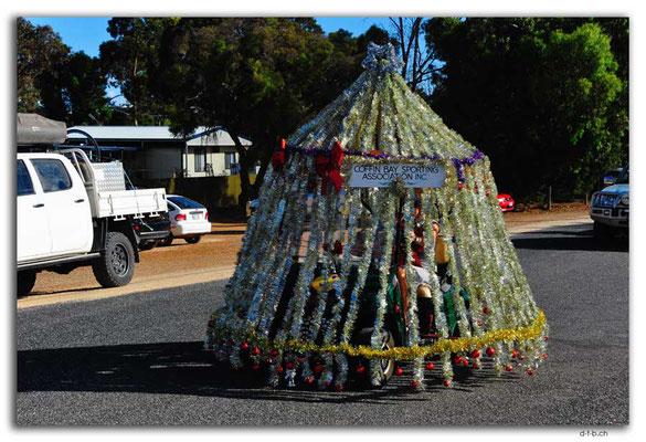 AU1031.Coffin Bay.Christmas Peagant.Moving Christmas tree